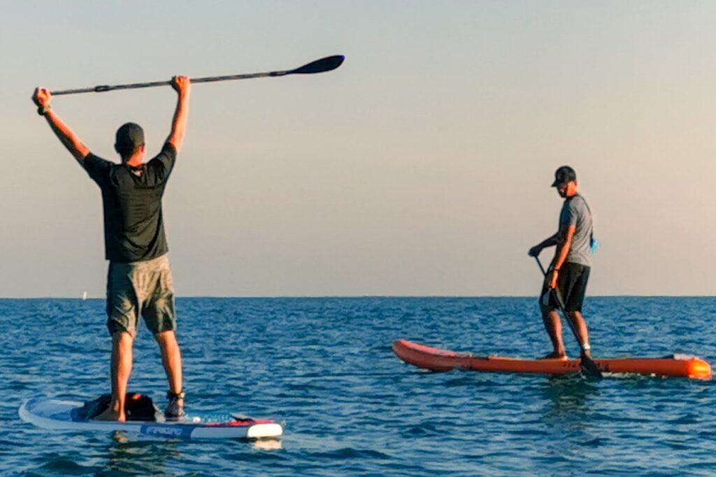 Rent a Stand-up paddleboard in Faro Portugal